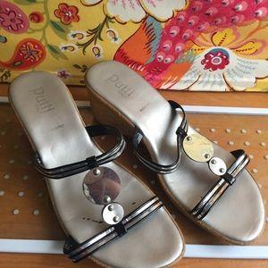 🌟Host Pick!🌟Putti Ladies Italian Slip on Sandals